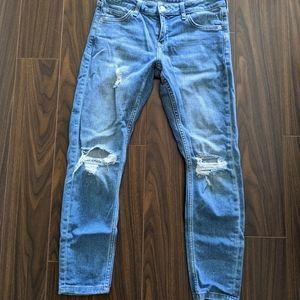 TOPSHOP - Lucas slim boyfriend jeans W26